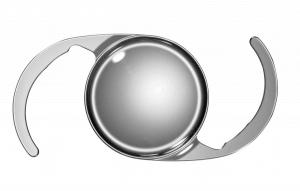 monofokal linse til brug ved grå stær operation
